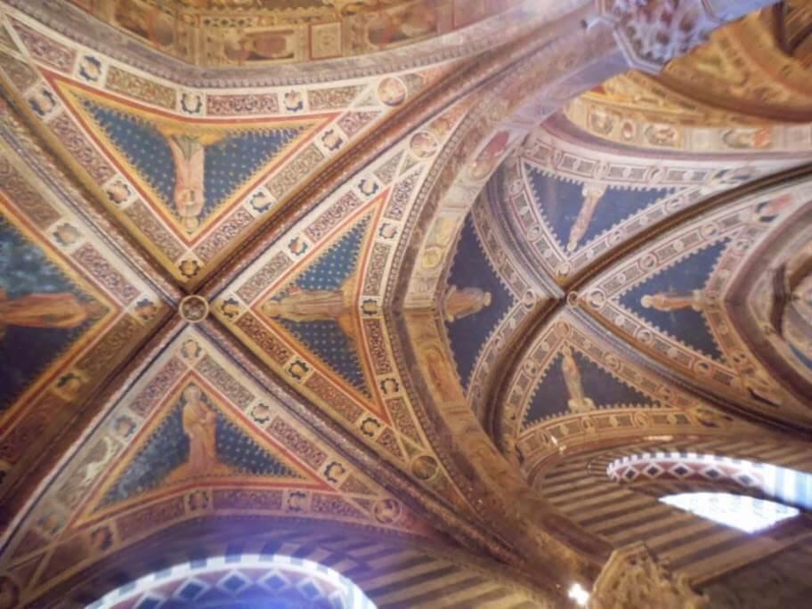 Frescos del Battistero di San Giovanni.