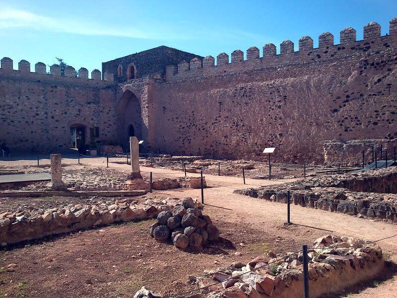 Interior de la fortaleza de Doña Berenguela