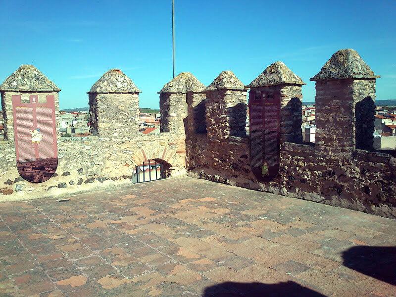 Almenas del castillo