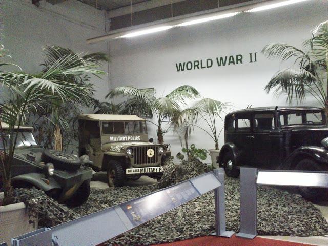 Vehículos de la Segunda Guerra Mundial.