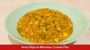 Arroz Rojo en Monsieur Cuisine Plus