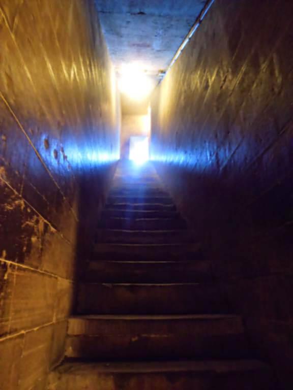 Escaleras interiores del Campanile de Giotto.
