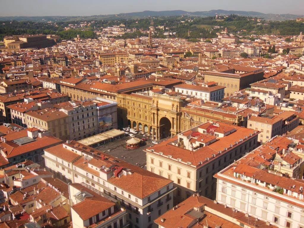 Panorámica de Florencia desde el Campanile.