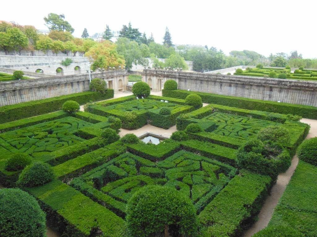 Jardines del monasterio de San Lorenzo de El Escorial