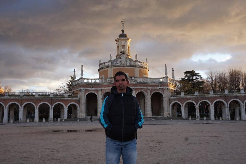 Europeos Viajeros en Aranjuez.