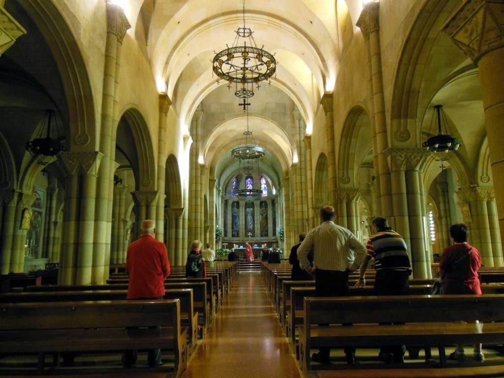Misa en la Iglesia de San Pedro.