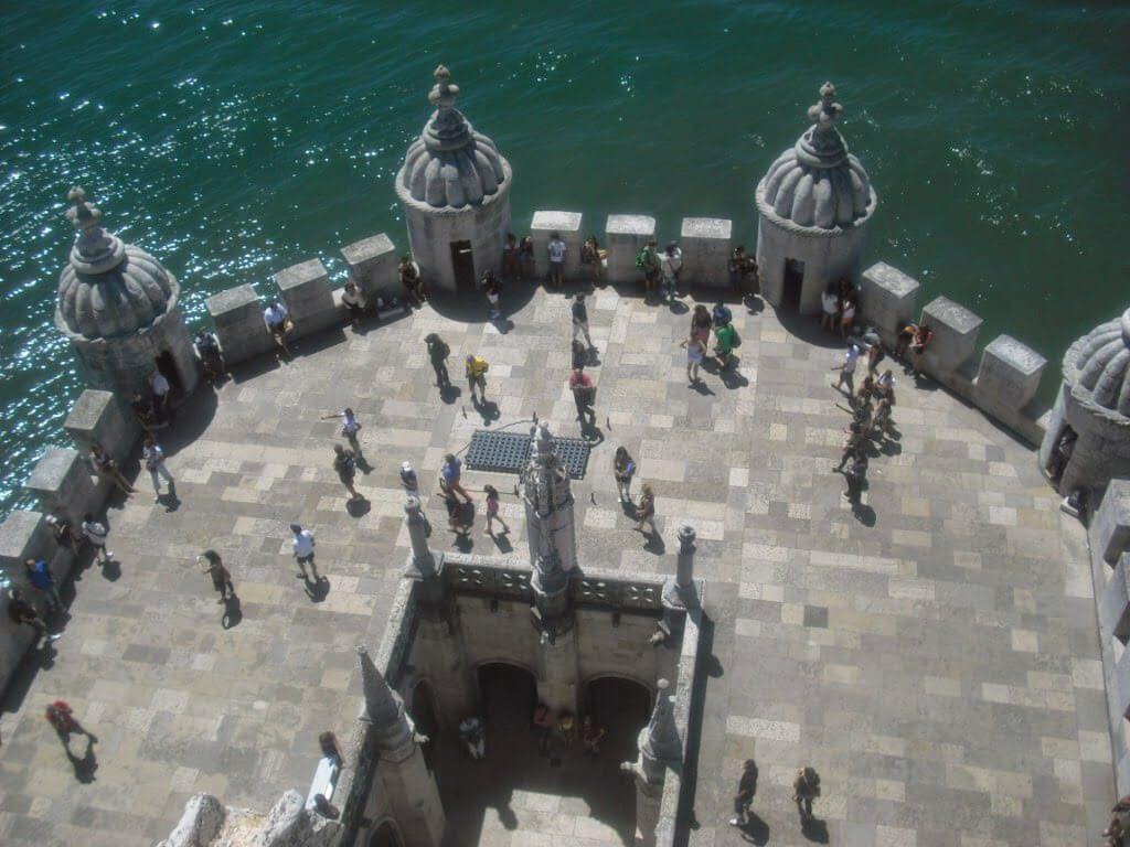 Vistas desde la terraza de Belem.