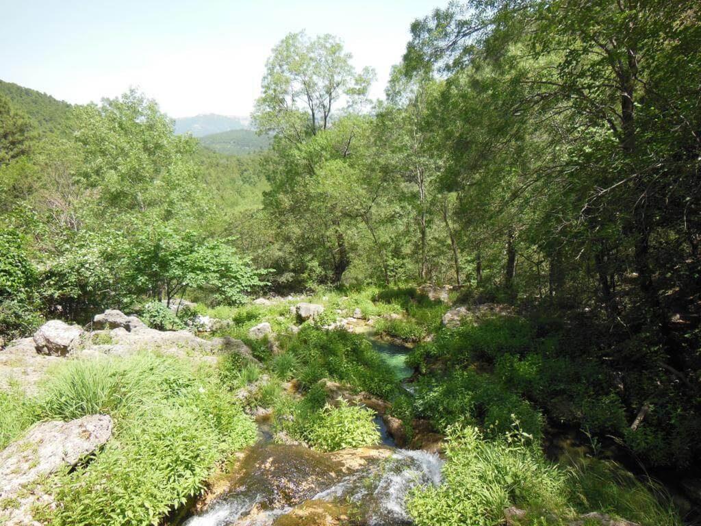 Primer mirador del río Mundo