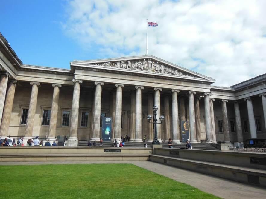 Museo Británico de Londres, uno de los museos virtuales gratis