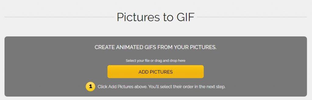 Selección imágenes para generar el gif