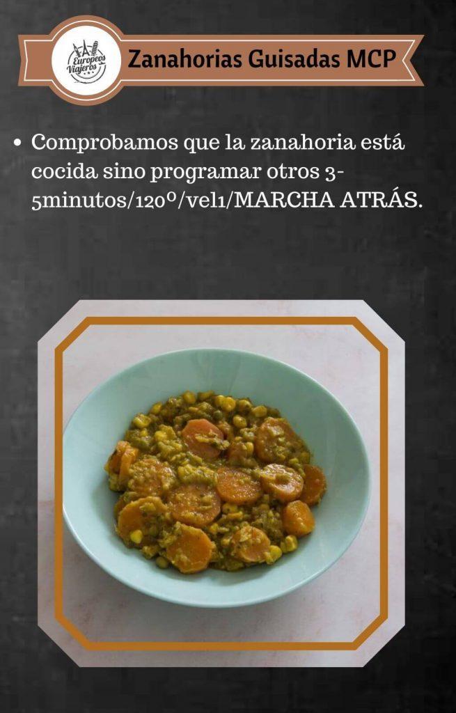 Receta de Zanahorias Guisadas