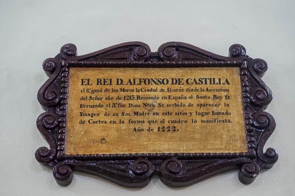 Placa del Rei D. Alfonso de Castilla