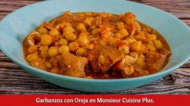 Garbanzos con Oreja en Monsieur Cuisine Plus