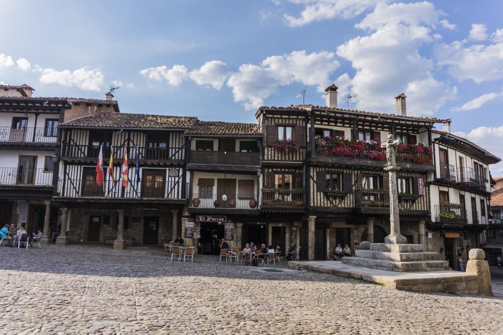 La Alberca, uno de los pueblos más bonitos de la Sierra de Francia.