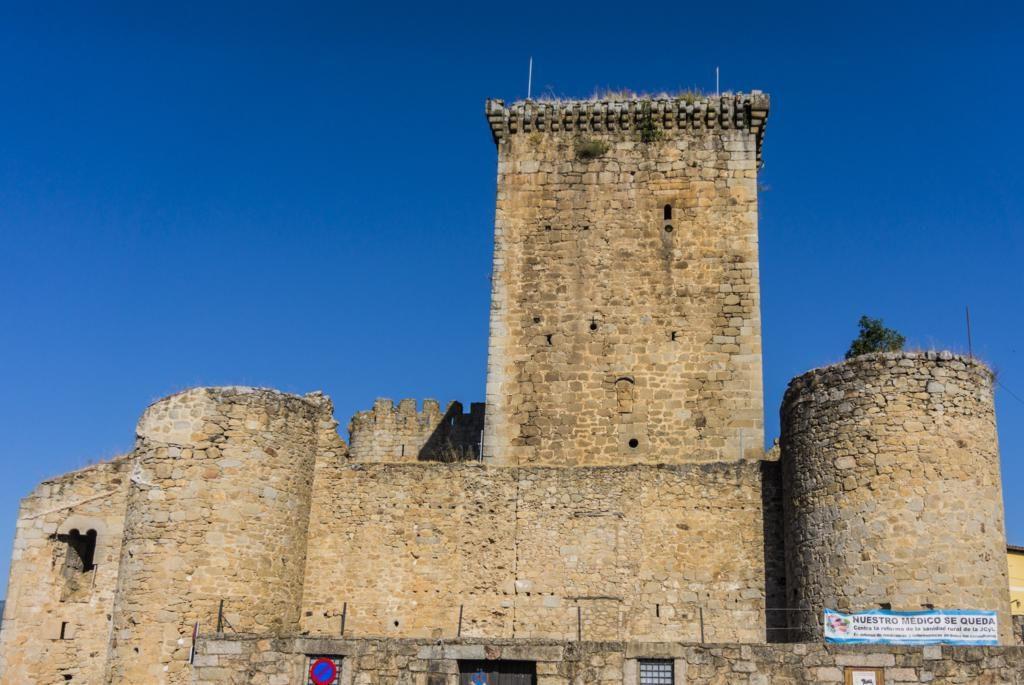 Castillo de Miranda del Castañar.