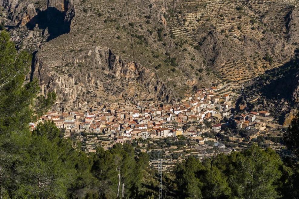 Foto de la ruta de senderismo en Ayna