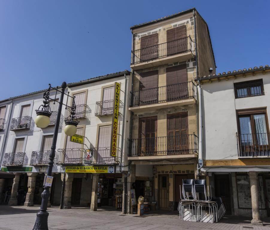 Plaza Mayor del Barco de Ávila.