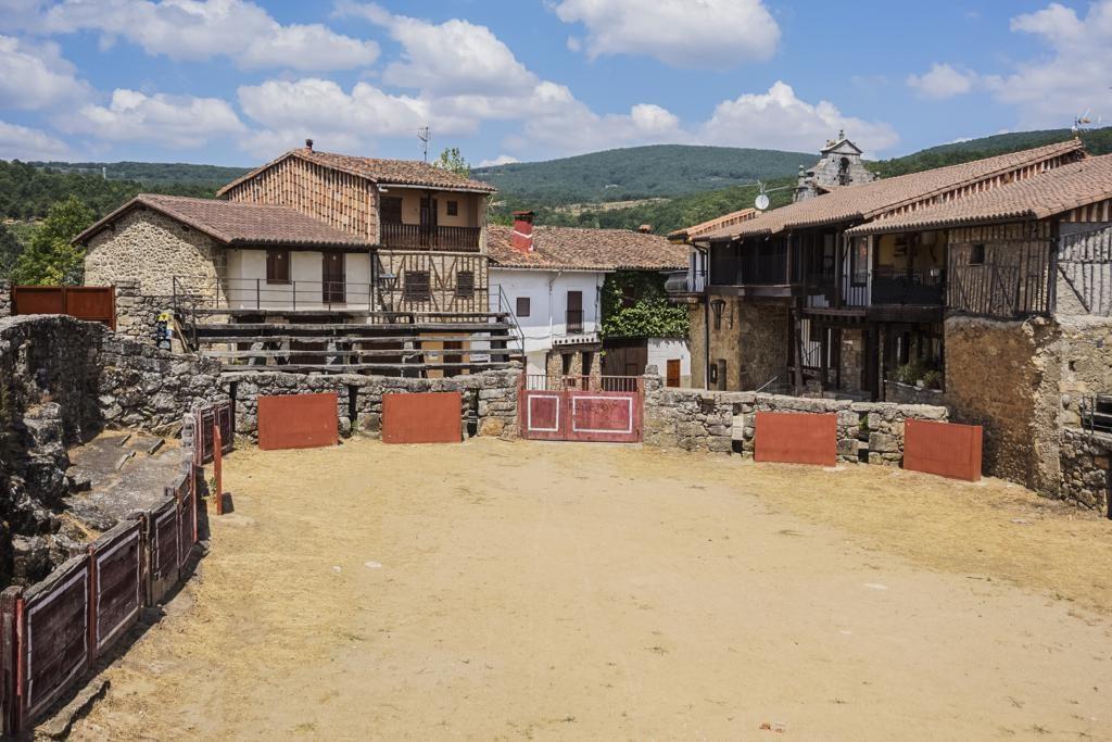 Plaza de Toros en San Martín del Castañar.
