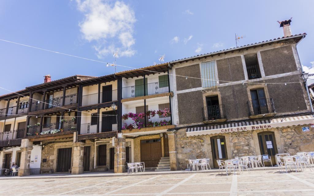 Sequeros, otro de los pueblos más bonitos de la Sierra de Francia.