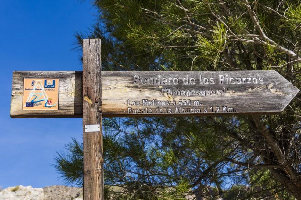 Continuación del Sendero de los Picarzos en Peñapesquera