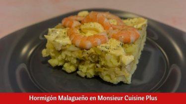 Hormigón Malagueño en Monsieur Cuisine Plus