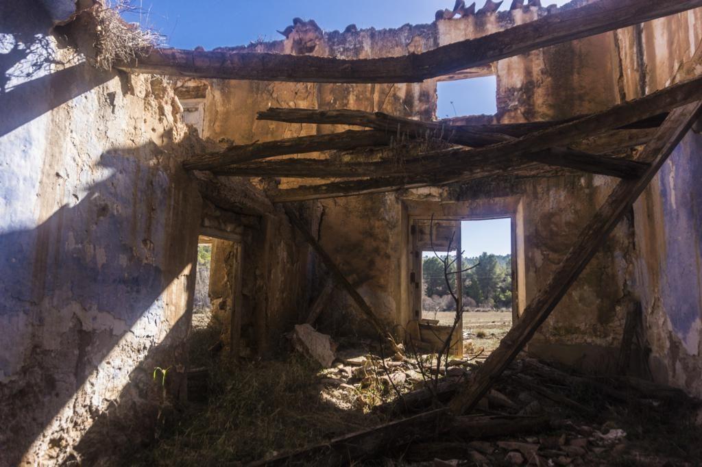 Interior del Molino de Papel.