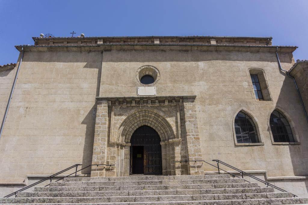 Iglesia del Salvador en Béjar.
