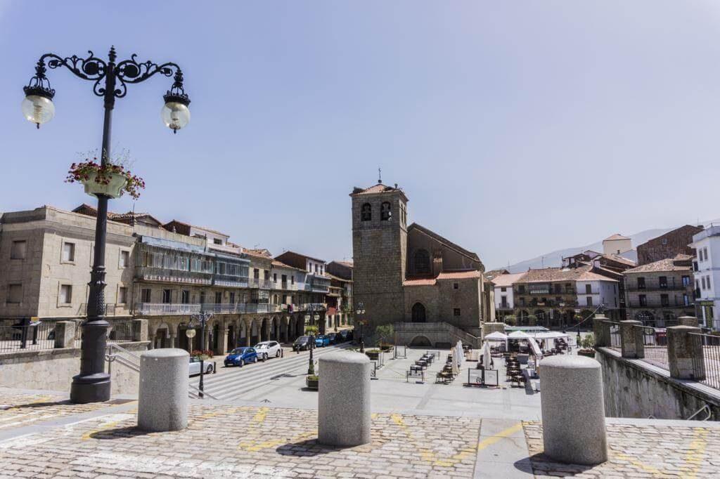 Plaza Mayor de Béjar.