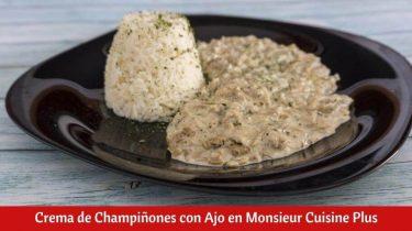 Crema de Champiñones con Ajo en Monsieur Cuisine Plus