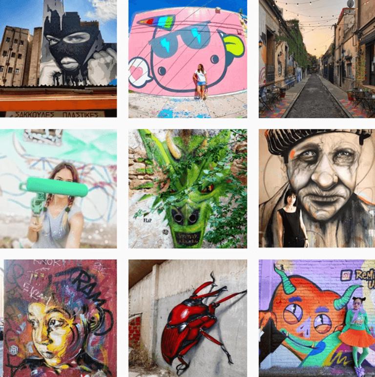 Hashtags de Arte by @Instagram