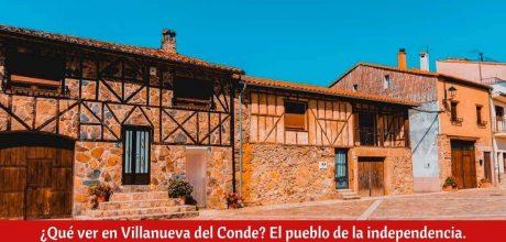 ¿Qué ver en Villanueva del Conde?