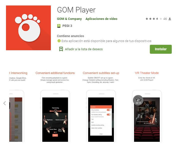 GOM Player.