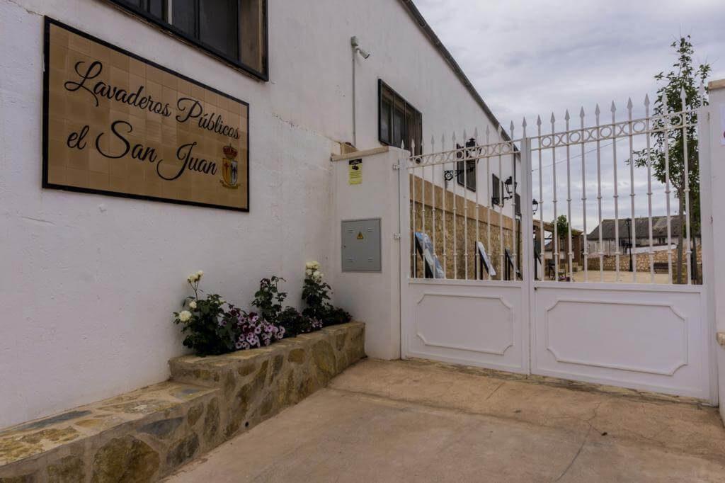 Entrada principal al Lavaderos Públicos el San Juán