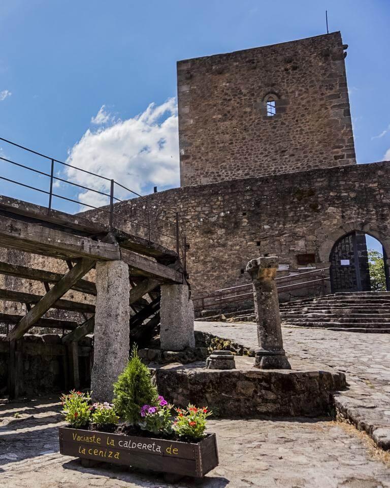 Castillo de San Martín del Castañar.