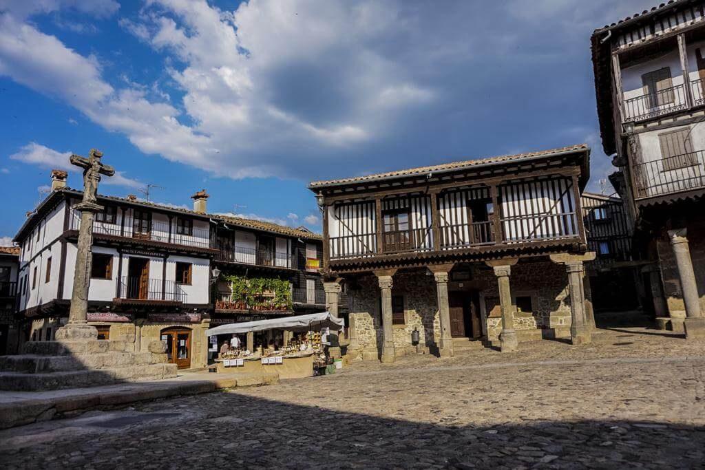 Plaza Mayor de la Alberca.