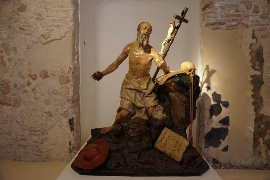 Escultura del Museo Catedral de Murcia