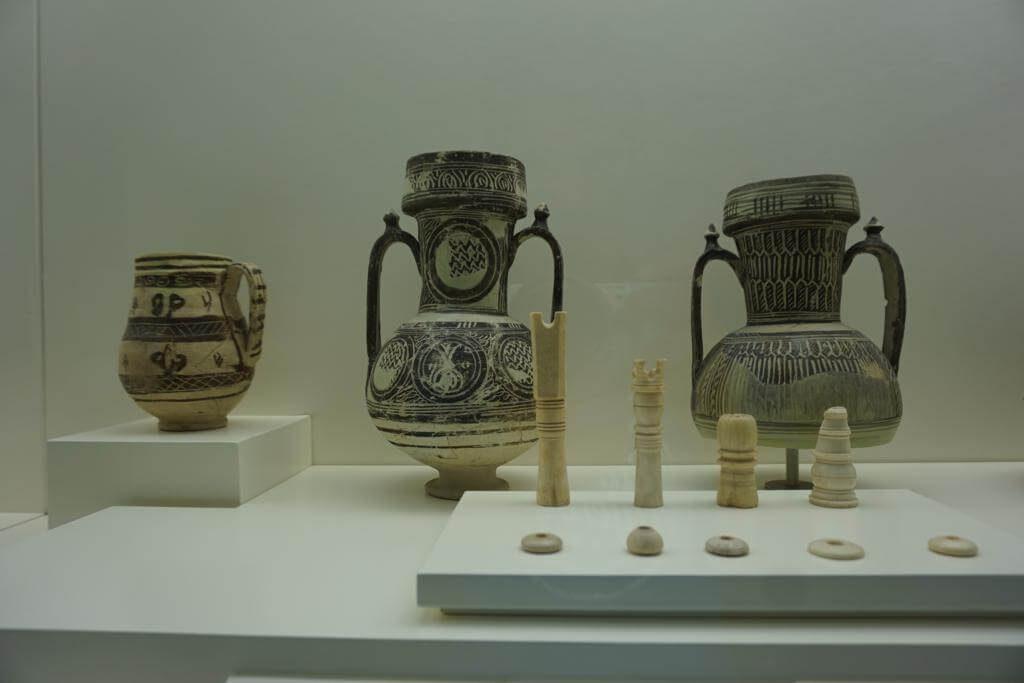 Cerámica en el museo