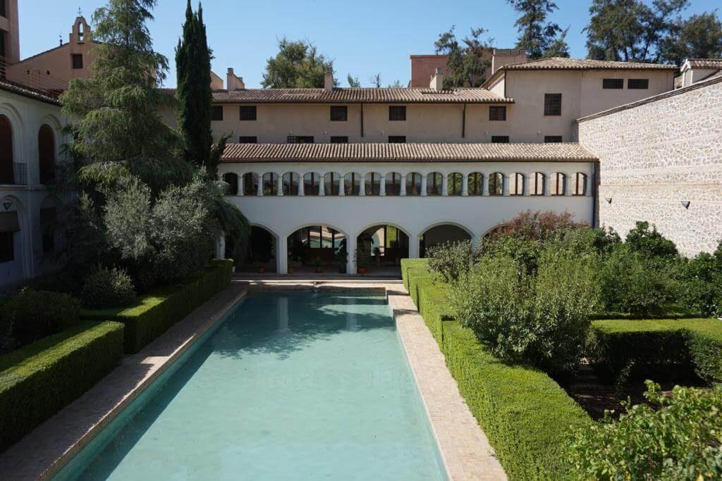 Alberca árabe en el Convento de Santa Clara Real