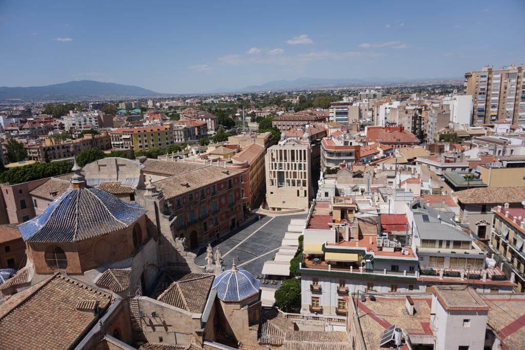Murcia desde la Torre de la Catedral