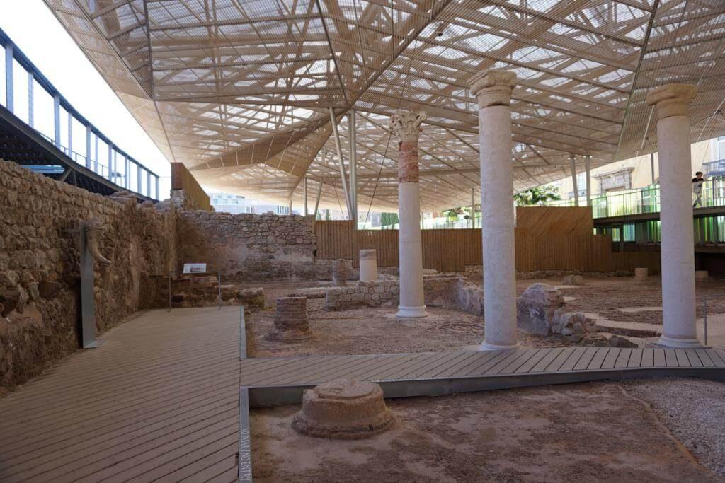 Interior del Barrio del Foro Romano
