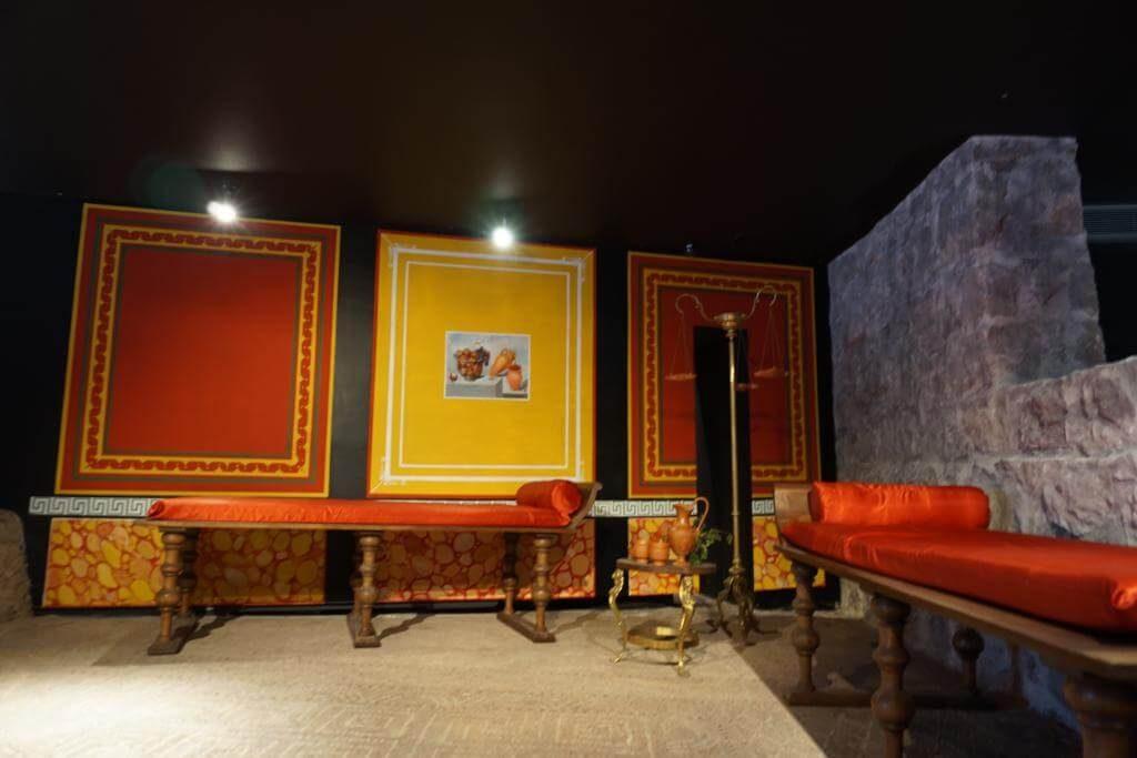 Habitación de la Casa de la Fortuna
