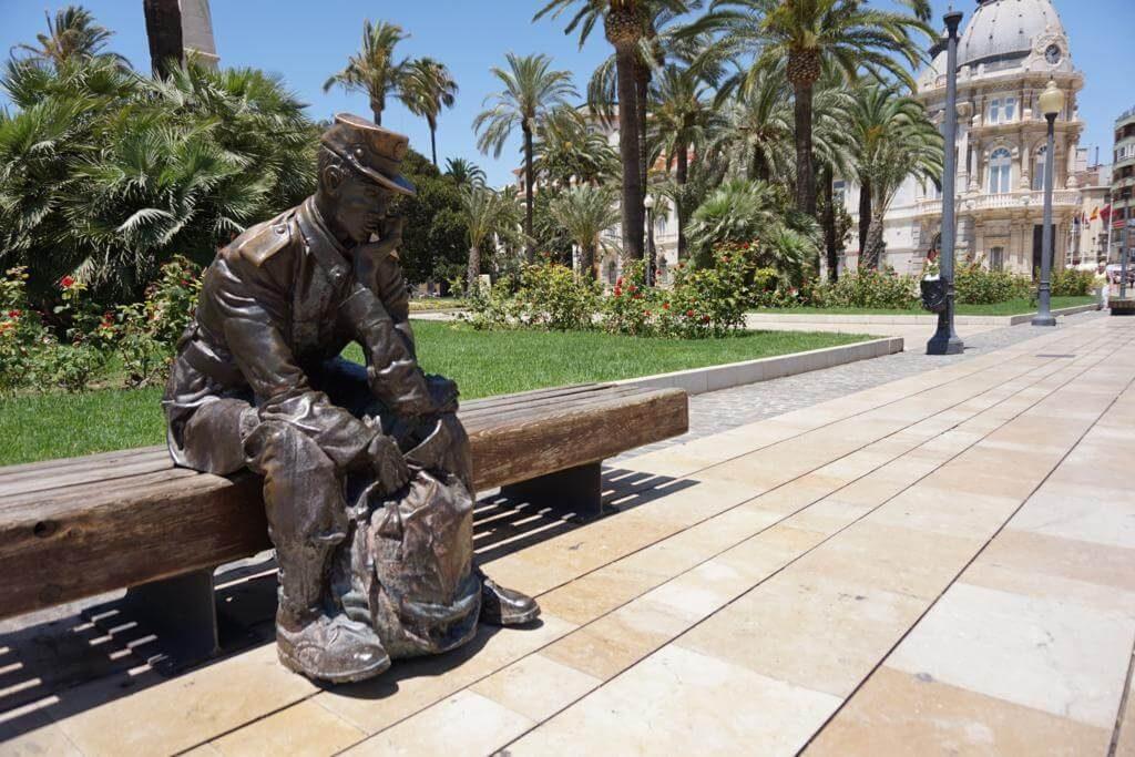 ¿Qué ver en Cartagena en un día? Monumento al Soldado de reemplazo