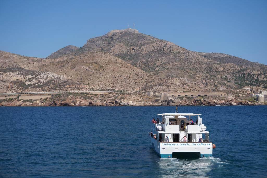 Barco turístico de Cartagena Puerto de Culturas