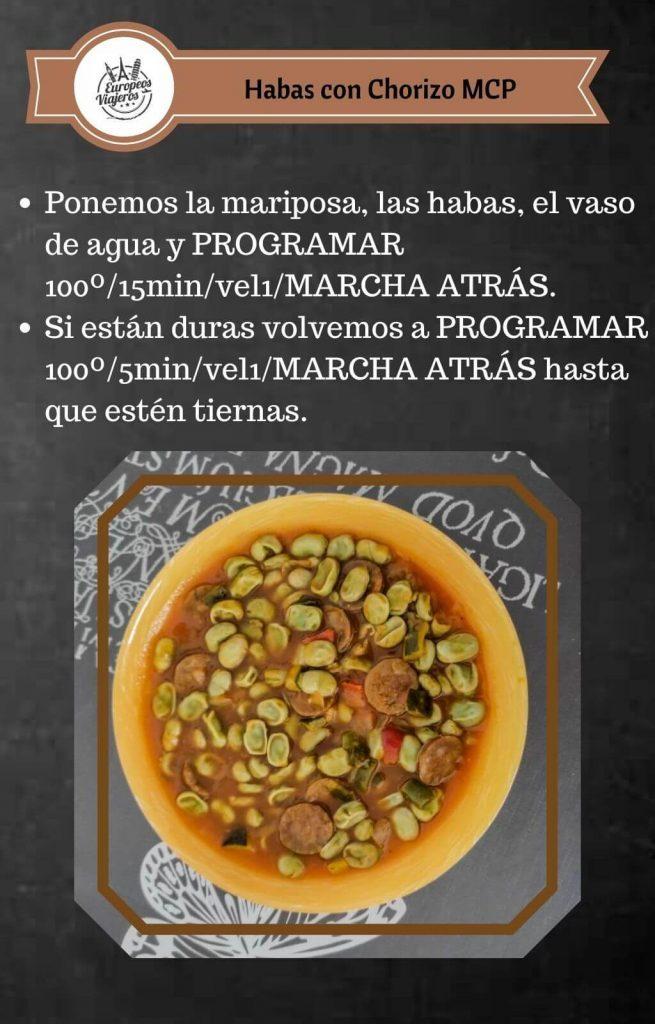 Receta de Habas con Chorizo.